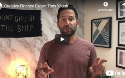Creative finance expert Tony Yousif