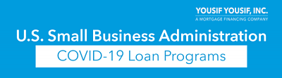 SBA Covid-19 Loan Programs