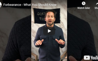 Forebearance – what you should know